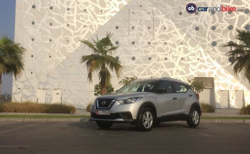 The Nissan Kicks that we got drive in Dubai, is not the one that's coming to India