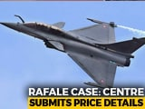 Video: Centre Submits Rafale Pricing Details In Sealed Cover To Supreme Court