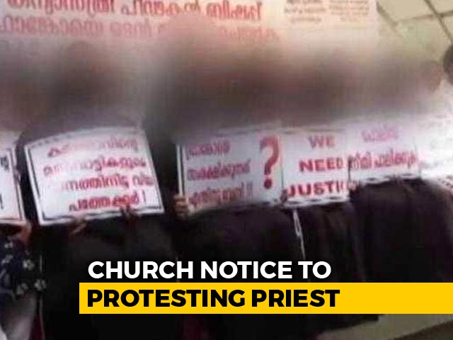 Video : Priest Who Organised Protest Against Rape-Accused Bishop Warned By Church
