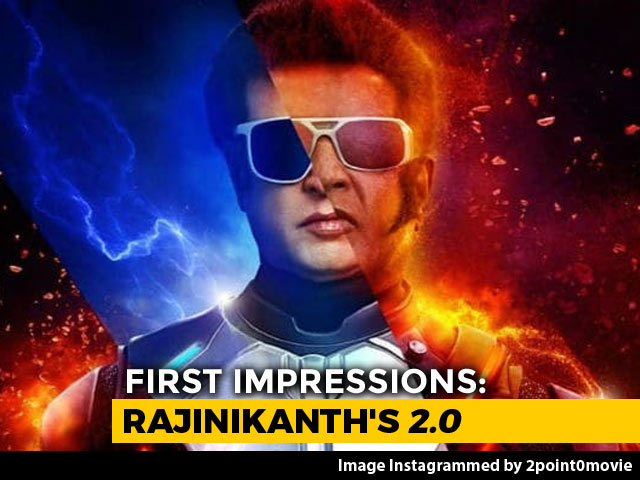 First Impressions Of Rajinikanth's 2.0