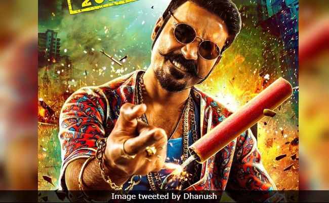 Dhanush's Maari 2 First Look Is Crackling Like A Diwali Pataakha