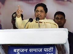 Congress Wanted To 'Finish Off' My Party In Madhya Pradesh: Mayawati