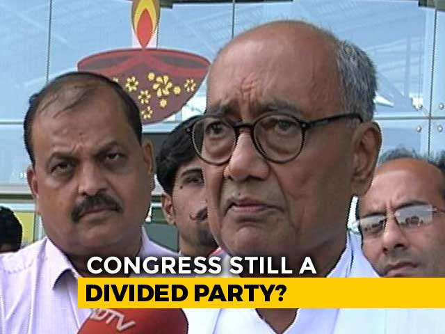 "Video : ""Was Asked Not To Interfere In Madhya Pradesh"": Digvijaya Singh To NDTV"