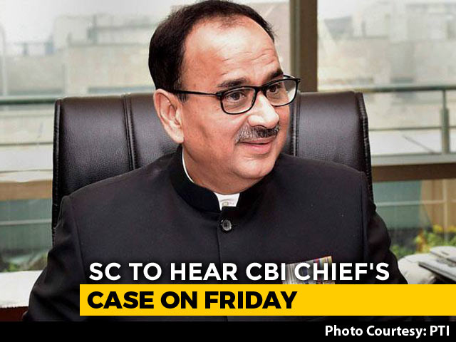 Video : Supreme Court Handed Probe Report On Exiled CBI Chief, With An Apology