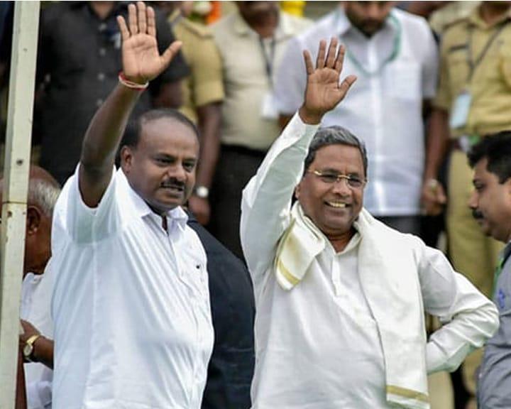कर्नाटक संकट: बागी विधायकों को मनाने की कोशिश तेज, BJP सोमवार को शक्ति परीक्षण कराने पर अड़ी