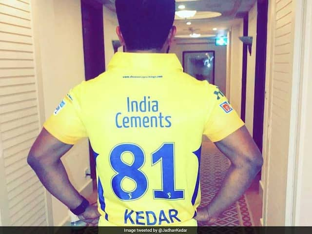 IPL 2019: Kedar Jadhav tweet to thanks Chennai Super Kings to continue with him