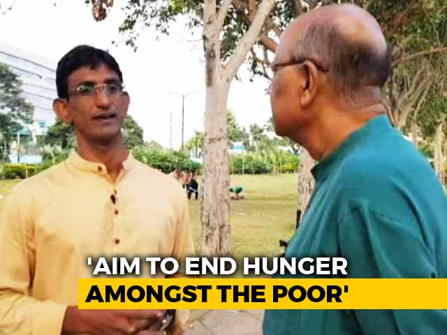 Video : Walk The Talk With Azhar Maqsusi, Founder, Hunger Has No Religion