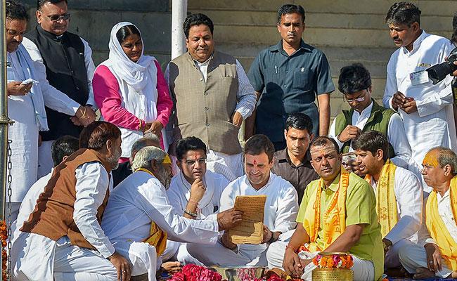 Rahul Gandhi A Kashmiri Brahmin, Have Record Of Ancestry