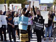 After Walkout, Google Agrees To Step Up Transparency, Harassment Policies
