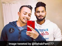 Rishabh Pant Criticised On Twitter After Posting Picture With Prithvi Shaw