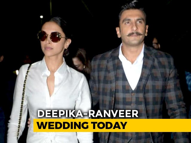 Deepika Padukone And Ranveer Singh's Wedding Day: The Venue And Other Detail