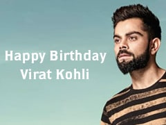 Happybirthday Virat: ரன் மிஷின் வீராட் கோலி