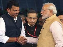 """Don't Be Scared Of PM"": Sena's 'Statue' Message For Devendra Fadnavis"