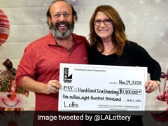 US Couple Win $1.8 Million After Finding Discarded Lottery Ticket At Home