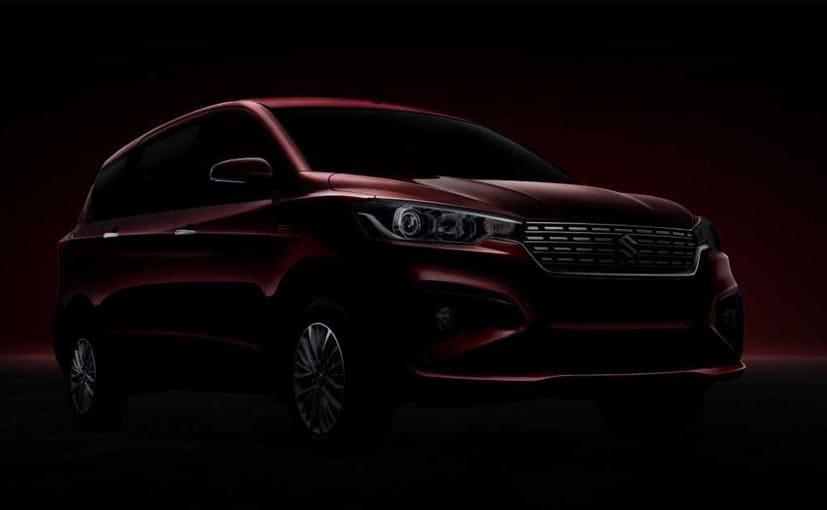 The new Maruti Suzuki Ertiga will be launched on November 21