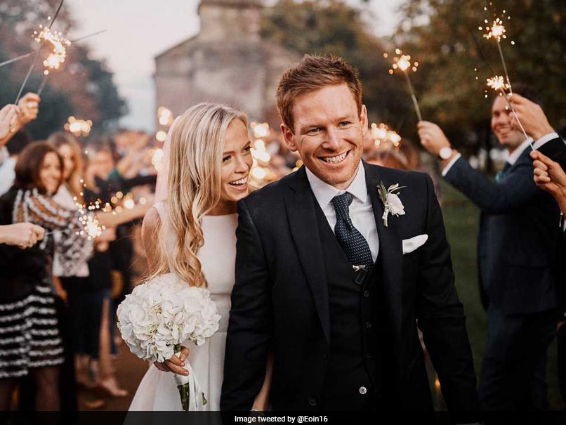 Eoin Morgan Gets Married To Long-Time Girlfriend, Shares Adorable Pic