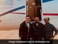 <i>2.0</i> - Akshay Kumar On 'Amazing' Rajinikanth: 'He Puts Entertainment In Every Line'