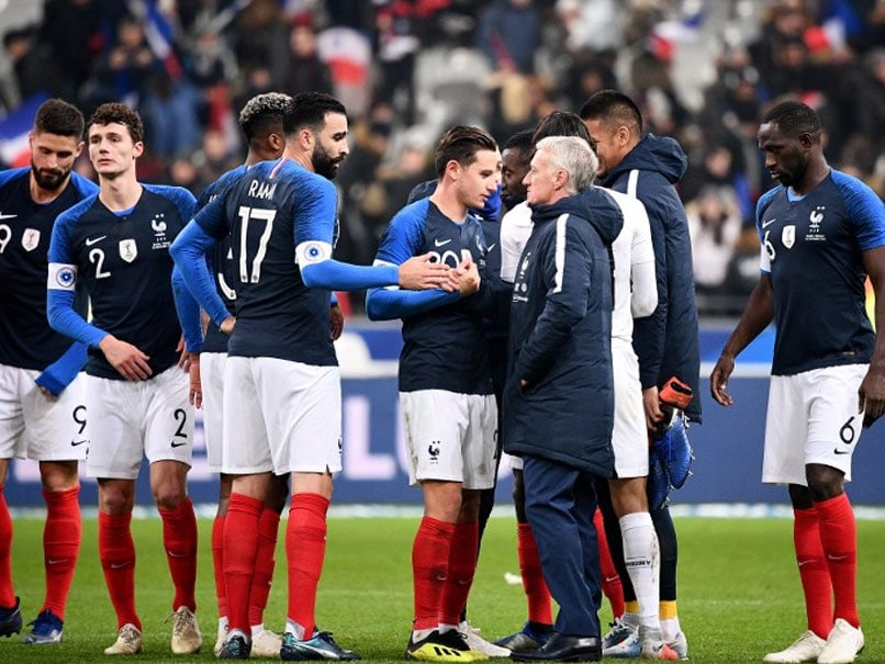 Kylian Mbappe Injured As France See Off Uruguay