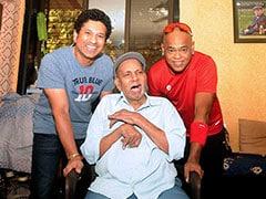 Sachin Tendulkar, Vinod Kambli Seek Blessings From Coach Ramakant Achrekar