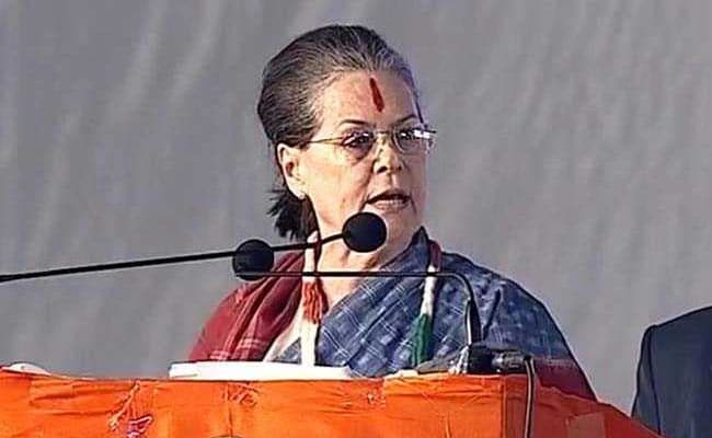 'Telangana Betrayed By Those In Power, Time For Change': Sonia Gandhi
