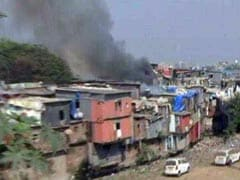 Fire At Mumbai Slum Injures 2, Burns Down 15 Huts