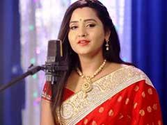 काजल राघवानी ने Chhath Puja पर लाल साड़ी में गाया 'पेन्हीं ना बलम जी पियरिया' गीत, Video ने मचाया तहलका