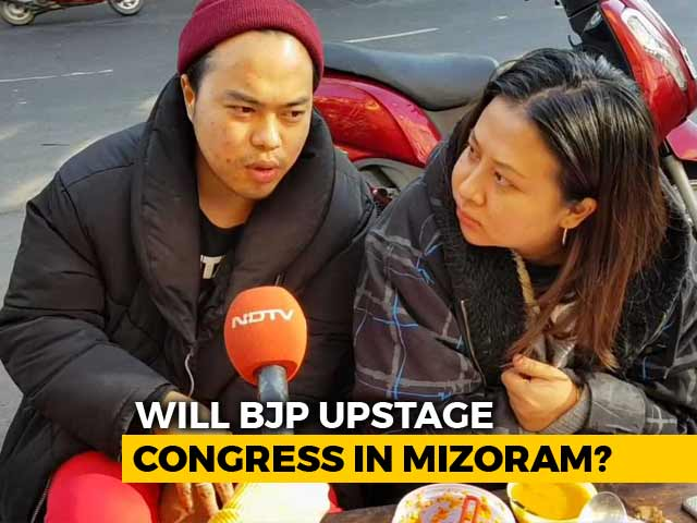 Video : Parties Step Up Campaigns In Mizoram