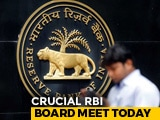 Video : RBI Board Meets In Mumbai Amid Big Clash With Government
