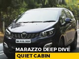 Video : Sponsored: Mahindra Marazzo | Quietest Cabin | NDTV carandbike