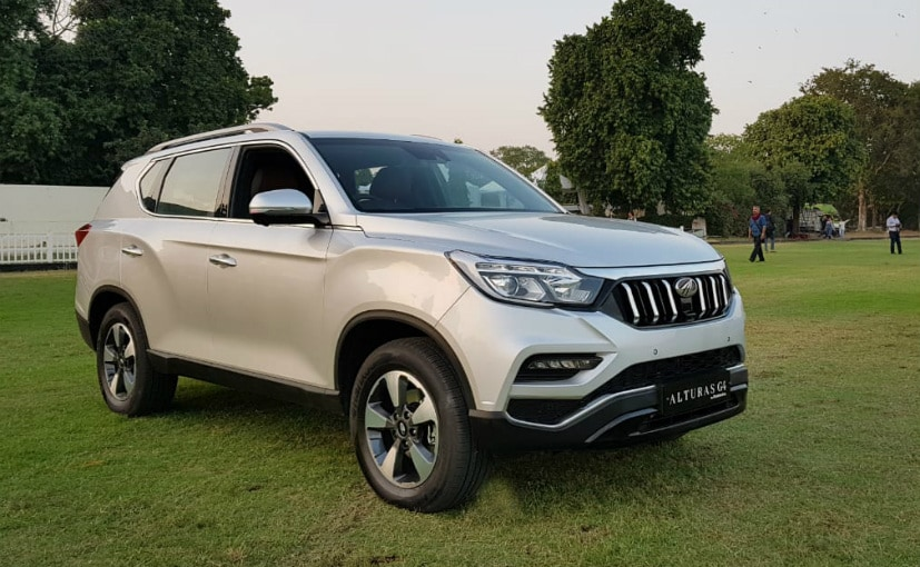 The Mahindra Alturas G4 is the largest SUVs to come from the automaker so far