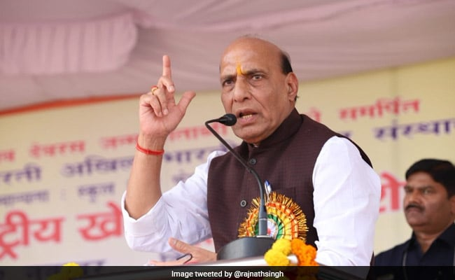 'Wait For Some Time': Rajnath Singh On Ram Temple Demand In BJP Meet