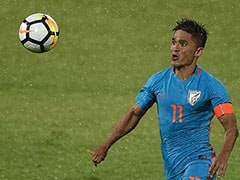 Sunil Chhetri To Miss Friendly Against Jordan Due To Ankle Injury