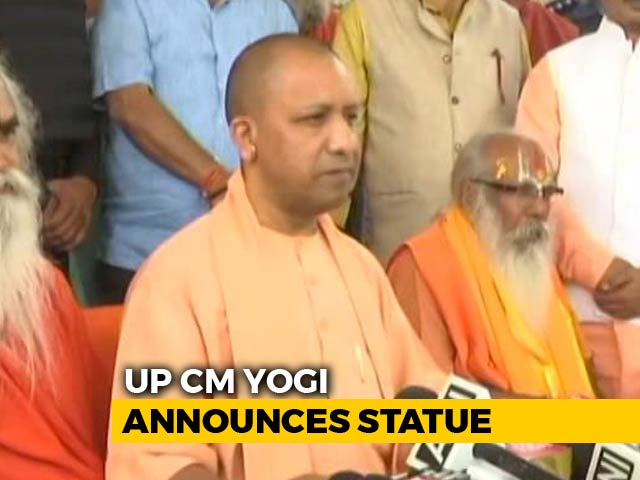 Video : Ram Statue Will Be Signpost For Ayodhya: Yogi Adityanath On Diwali