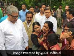 असम के तिनसुकिया में माओवादी हमले में मारे गए लोगों के परिजनों से मिला टीएमसी का प्रतिनिधि मंडल