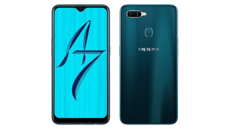 Oppo A7 की बिक्री भारत में शुरू, जानें दाम