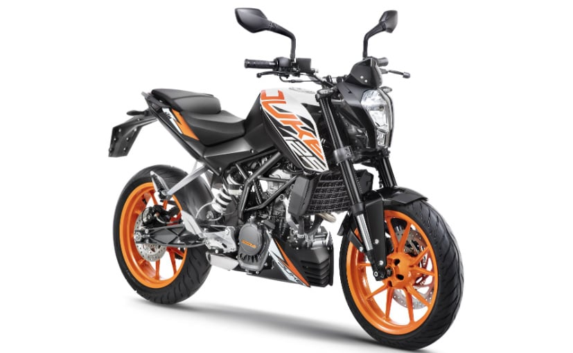The KTM 125 Duke is the most affordable model from the company in India