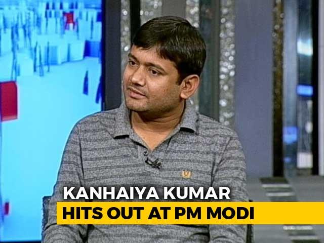 "Video : ""Should Have Told Rafale Price To Soldiers"": Kanhaiya Kumar Attacks PM"