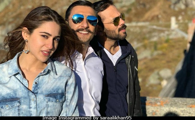 For Simmba Sara Ali Khans Name Was Suggested By Kedarnath Director
