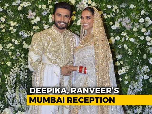 Deepika Padukone And Ranveer Singh's Mumbai Reception, Part 1