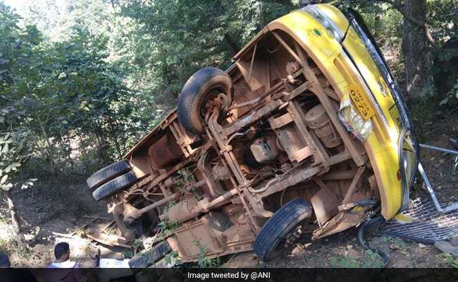 3 Dead, 15 Injured As Bus Falls Into Gorge In Odisha