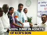 Video : KCR's Son 400% Richer, Daughter-In-Law Wealth Rose 20 Times In 4 Years