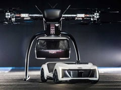 Audi Completes First Test Of Its Autonomous Flying Taxi