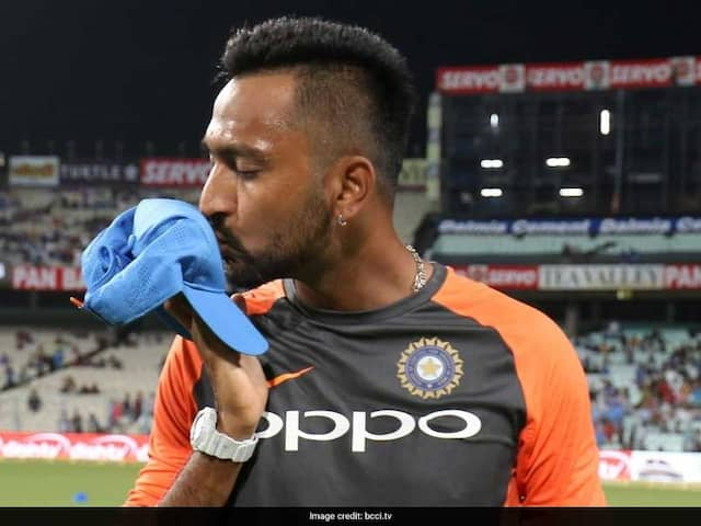 Watch: Hardik Pandya Has An Adorable Message For Brother Krunal On His T20I Debut