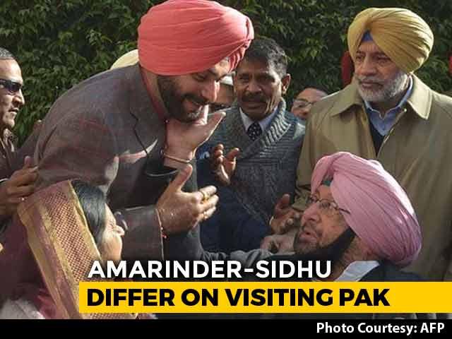 "Video : ""It's The Way He Thinks"": Amarinder Singh vs Navjot Sidhu On Kartarpur"