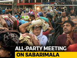 Video : Congress, BJP Boycott Kerala All-Party Meet Ahead Of Sabarimala Opening