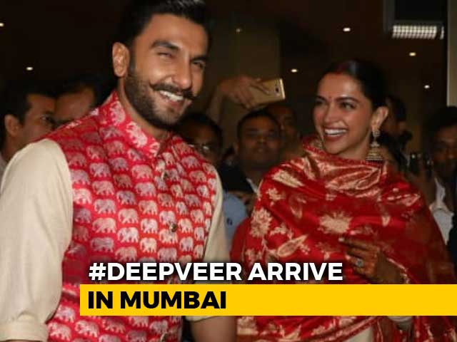 Video : Deepika, Ranveer's Homecoming After Italy Wedding