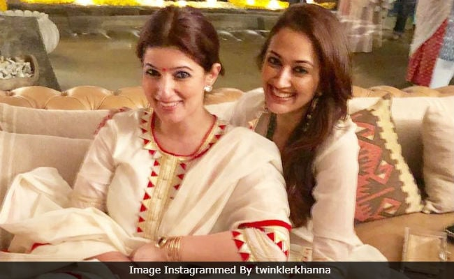 'Diwali Double Dhamaka': When Twinkle Khanna And BFF Gayatri Oberoi Ended Up In Identical Outfits