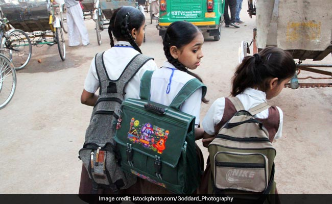 'Reduce School Bag Weight, No Homework For Classes 1-2': MHRD To States, UTs