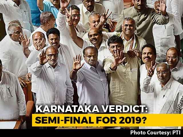 Video : Deepavali Bonus For Congress-HD Kumaraswamy, 4:1 Win In Karnataka