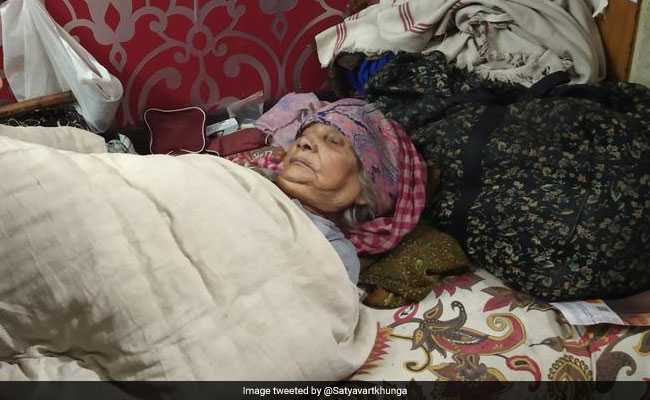 Woman, 95, Allegedly Held Captive By Daughter-In-Law, Rescued In Delhi